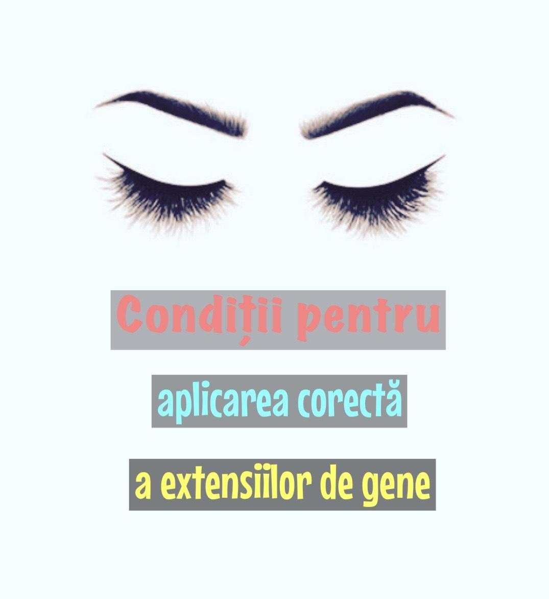 Conditii pentru aplicarea extensiilor de gene