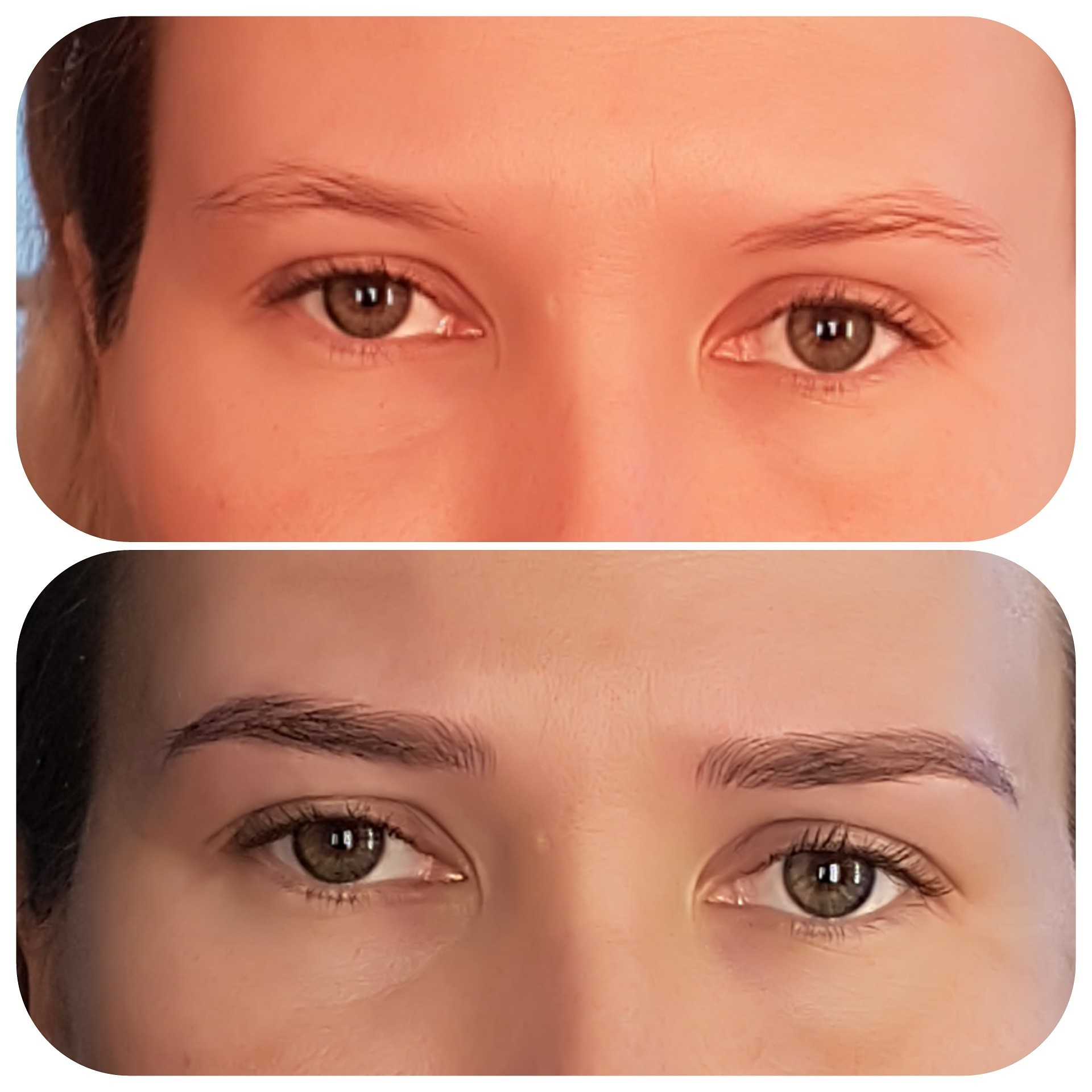 Microblading Before/After